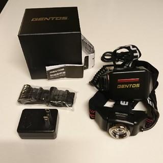 ジェントス(GENTOS)の新品 Gentos ヘッドライト GH-001RG(ライト/ランタン)