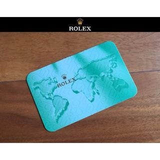 ROLEX ロレックス 正規品 純正 2004-2005年 カード型 カレンダー