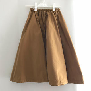 ムジルシリョウヒン(MUJI (無印良品))の無印良品 オーガニックコットン フレアスカート(ひざ丈スカート)