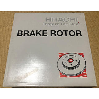 ヒタチ(日立)の日立/HITACHI パロート ブレーキローター V6-184B 2枚セット(車種別パーツ)