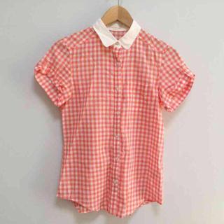 ジーユー(GU)のギンガムチェックシャツ / GU(シャツ/ブラウス(半袖/袖なし))