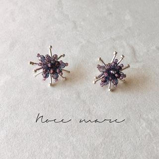 -purple stir-(ピアス)