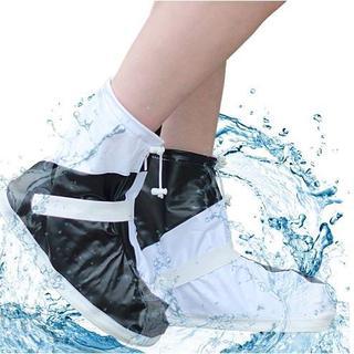 【完全防水】超軽量!シューズカバー 靴カバー レインブーツ(その他)