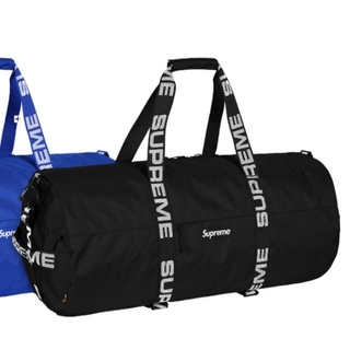 シュプリーム(Supreme)の本日限定値下supreme  Large Duffle Bag Black 大 (ドラムバッグ)