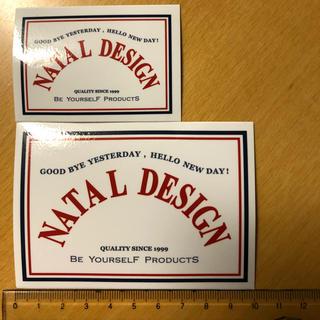 ネイタルデザイン(NATAL DESIGN)のネイタルデザイン ステッカー 大小2枚セット natal design(その他)
