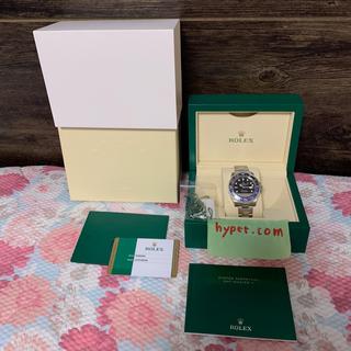 ロレックス(ROLEX)のROLEX ロレックス GMTマスター 2 116710 BLNR 値引き不可(腕時計(アナログ))