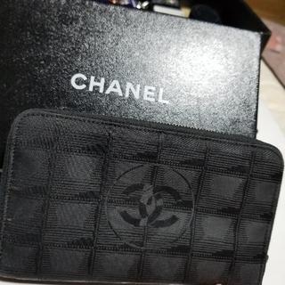 シャネル(CHANEL)のトラベルライン財布正規品ヨロシクお願いします(財布)