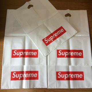 シュプリーム(Supreme)のsupreme シュプリーム ボックスロゴ ショッパー大 × 5枚セット (エコバッグ)
