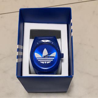 アディダス(adidas)のアディダス時計 ブルー(腕時計(アナログ))