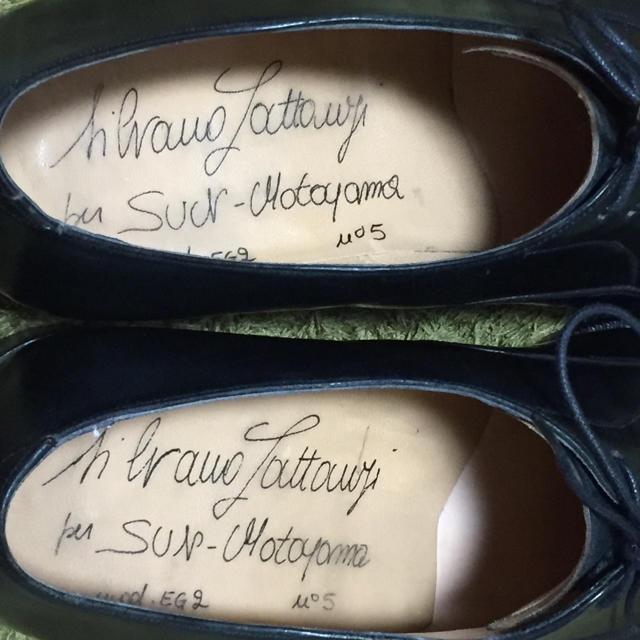 SILVANO LATTANZI(シルバノランタンジ)の幻の超絶コードバン‼️ シルバノ・ラッタンジ LATTANZI ジンターラ メンズの靴/シューズ(ドレス/ビジネス)の商品写真
