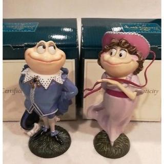 ディズニー(Disney)の日本未発売!希少WDCC「イカボードとトード氏」」2体セット/新品未使用(その他)