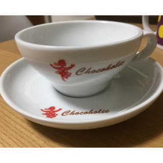 チョコホリック(CHOCOHOLIC)のchocoholicカップ&ソーサーセット(グラス/カップ)