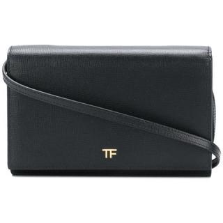TOM FORD - Tom Ford (トム・フォード)クロスボディ長財布(ブラック)