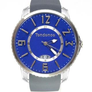 テンデンス(Tendence)のテンデンス TG131005 スリムポップ ブルー ユニセックス 腕時計(腕時計(アナログ))