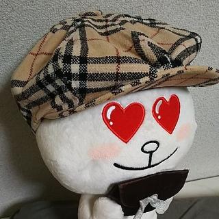 バーバリーブラックレーベル(BURBERRY BLACK LABEL)のleon様専用⭐️ハンチング🏌️バーバリー ブラックレーベル 帽子(ハンチング/ベレー帽)