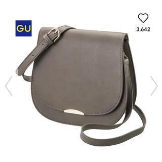 ジーユー(GU)の8* 新品未使用 ジーユー サドルショルダーバッグ bag ユニクロ  しまむら(ショルダーバッグ)