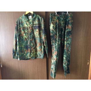 ドイツ連邦軍 フレック迷彩服上下セット(戦闘服)