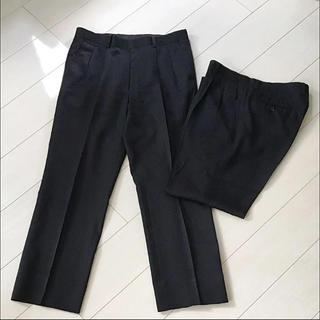 メンズ スラックス 2本セット(スラックス/スーツパンツ)