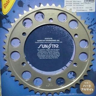 サンスター(SUNSTAR)のサンスタースプロケットRK-105-48 新品 カワサキ【花*花様】(パーツ)