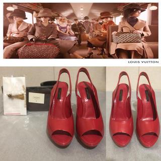 ルイヴィトン(LOUIS VUITTON)のLouis Vuitton (ルイ・ヴィトン) ♡ オープントゥ パンプス(ハイヒール/パンプス)