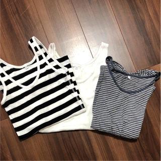 MUJI (無印良品) - 無印良品  タンクトップ  Tシャツセット