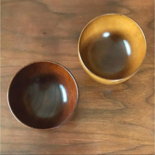 MUJI (無印良品) - 漆器  天然木  椀  2点セット