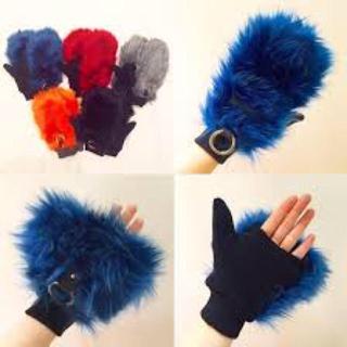 ビューティアンドユースユナイテッドアローズ(BEAUTY&YOUTH UNITED ARROWS)のグストンバール 手袋 ファー手袋(手袋)