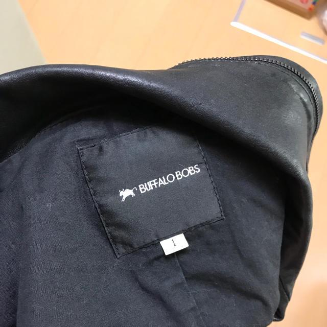 BUFFALO BOBS(バッファローボブス)の値下げ!バッファローボブズ レザージャケット メンズのジャケット/アウター(レザージャケット)の商品写真