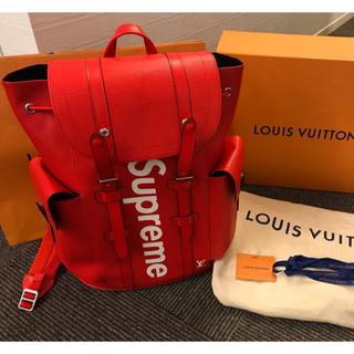 ルイヴィトン(LOUIS VUITTON)のmuniminipo様専用 LouisVuittonシュプリームバックパック (バッグパック/リュック)