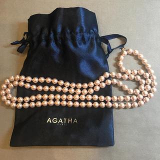 アガタ(AGATHA)のAGATHA パールネックレス 未使用(ネックレス)