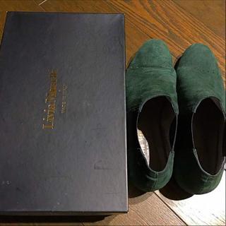 グリーンレーベルリラクシング(green label relaxing)の値下げします✭LiviaMonettiのサイドゴアブーツ(ブーツ)