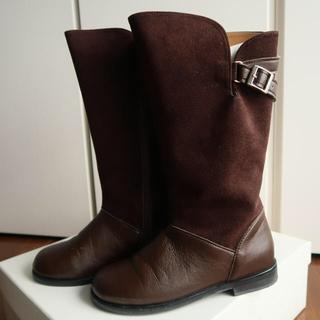 タルティーヌ エ ショコラ(Tartine et Chocolat)のタルティーヌエショコラ ロングブーツ 18cm(ブーツ)