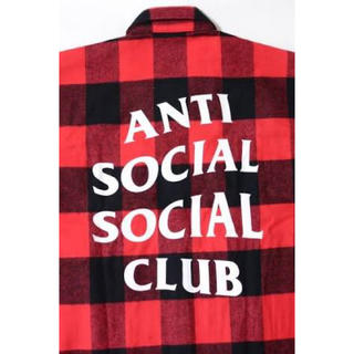 アンチ(ANTI)のANTI SOCIAL SOCIAL CLUB ネルシャツ(シャツ)