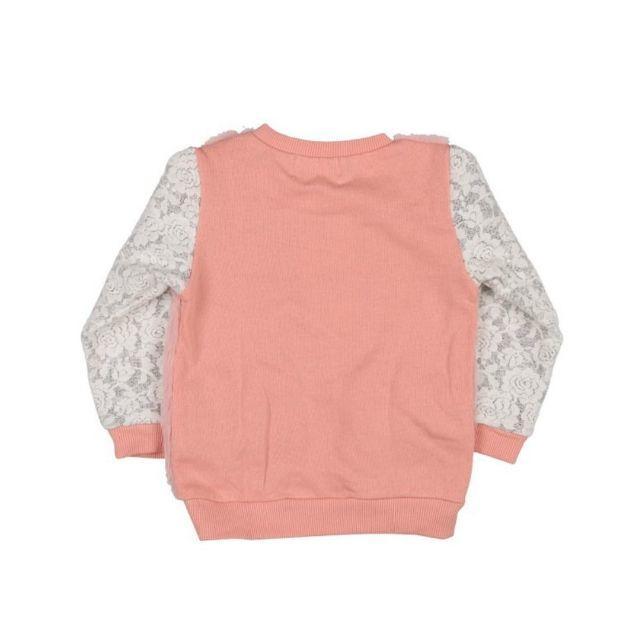 WILL MERY(ウィルメリー)のWill Mery(ウィルメリー)型込みボア配色トレーナーS66666 キッズ/ベビー/マタニティのキッズ服 女の子用(90cm~)(Tシャツ/カットソー)の商品写真