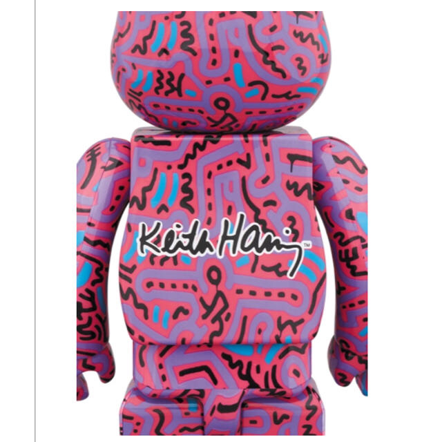 MEDICOM TOY(メディコムトイ)の新品 BE@RBRICK KEITH HARING #2 1000% エンタメ/ホビーのフィギュア(その他)の商品写真
