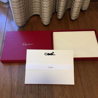 カルティエ(Cartier)のカルティエ Cartier レターセット パンテール 10組セット 手紙(カード/レター/ラッピング)