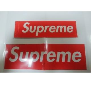 シュプリーム(Supreme)の1枚☆国内正規品 box logo ステッカー RED(その他)