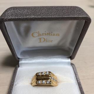 クリスチャンディオール(Christian Dior)の超美品Diorヘキサゴンリング☆(リング(指輪))