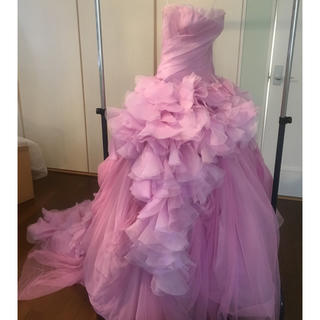 ヴェラウォン(Vera Wang)のVERA WANG ピンクヘイリー サードオーナー(ウェディングドレス)