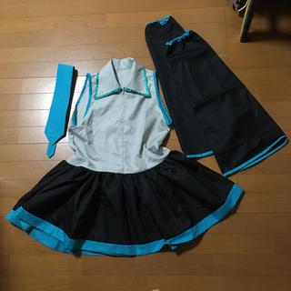 初音ミクコスチュームコスプレ衣装ハロウィン仮装ボーカロイドアニメマンガゲーム(衣装一式)
