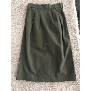 ムジルシリョウヒン(MUJI (無印良品))の新品 無印スカート(ひざ丈スカート)
