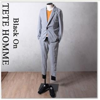 テットオム(TETE HOMME)の新品 Black on テットオム 正規品【L】 セットアップ スーツ(セットアップ)