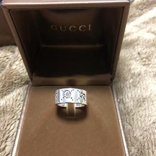 グッチ(Gucci)のGUCCI ゴースト リング 14号(リング(指輪))
