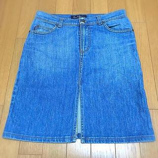 アールジーン(Earl Jean)のデニムスカート(ひざ丈スカート)