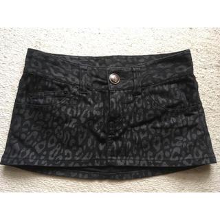 メゾンギルフィー(MAISON GILFY)のレオパード♡ミニスカート(ミニスカート)