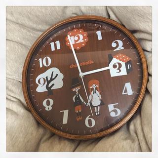 チョコホリック(CHOCOHOLIC)の掛け時計(掛時計/柱時計)