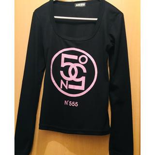 アンズ(ANZU)のANZU】秋用 Mサイズ ロンT 黒(Tシャツ(長袖/七分))