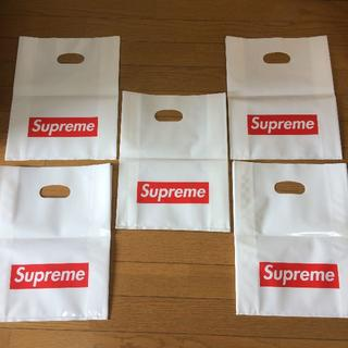 シュプリーム(Supreme)のsupreme シュプリーム ボックスロゴ ショッパー小 × 5枚セット (エコバッグ)
