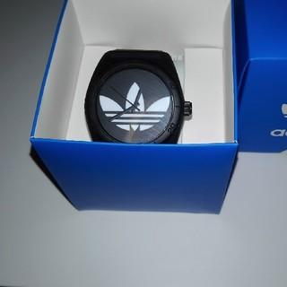 アディダス(adidas)のadidas 腕時計 ブラック アディダス(腕時計(アナログ))