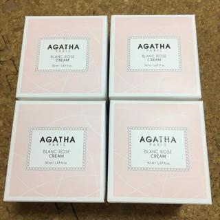 アガタ(AGATHA)のagatha ホワイトニング ローズクリーム 50ml 4つセット(フェイスクリーム)